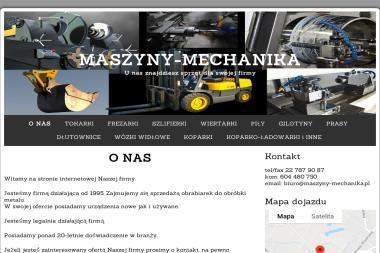 Mechanika Maszyn Radosław Biesiadecki - Koparko-ładowarki Radzymin