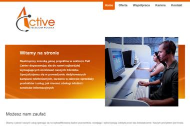 Active Telecom Polska Sp. z o.o. - Badanie rynku Warszawa