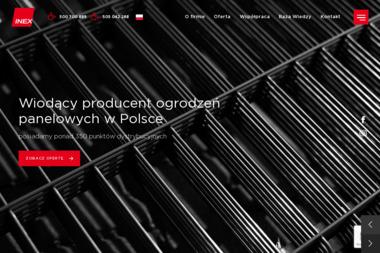 Inex Ogrodzenia Panelowe - Bramy wjazdowe Płońsk