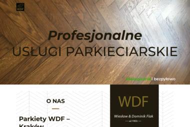 Zakład Usługowy Posadzkarstwo Dominik Flak - Cyklinowanie Kraków
