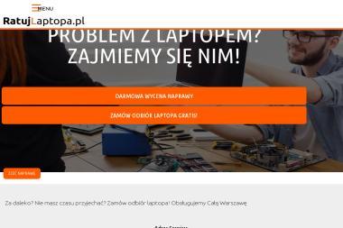 Naprawa laptopów Warszawa - Usługi Komputerowe Warszawa