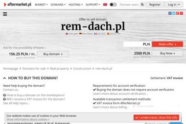 """""""REM-DACH"""" - Obróbki blacharskie Szczecin"""