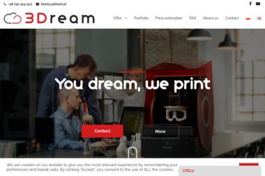 3Dream Kamil Brzózy - Projektowanie CAD/CAM/CAE Dąbrowa