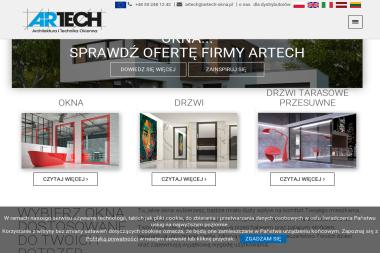ARTECH Artur Mendelewski - Technika okienna - Okna drewniane Anglity