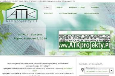 ATK Biuro Projektowe - ATKprojekty.PL - Projekty domów Kielce