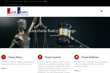 Kancelaria Radcy Prawnego Jacek Siedlec - Radca prawny Lublin