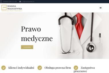 Kancelaria Radcy Prawngo Joanna Maliszewska - Obsługa prawna firm Gdańsk