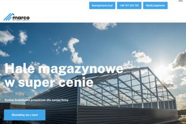 Marco Sp. z o.o. - Magazyny do wynajęcia Baranówko