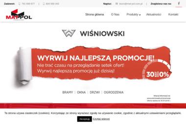 P.P.U.H. MAT-POL Kazimierz Plata - Rolety Antywłamaniowe Białystok
