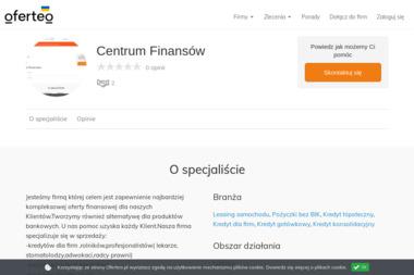 Centrum Finansów - Kredyt Pabianice