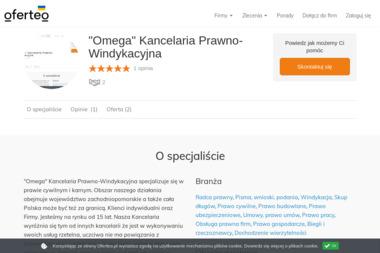 """""""Omega"""" Kancelaria Prawno-Windykacyjna - Porady Prawne Koszalin"""