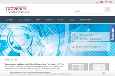 Produkcja Wyrobów Metalowych Handel Usługi Różne Vogler Roman - Systemy wentylacyjne Gniew