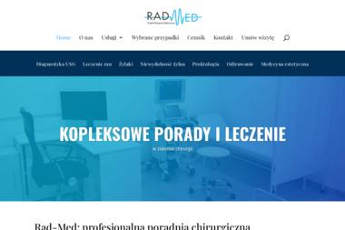 Poradnia Chirurgiczno Diagnostyczna RAD.MED - Proktolog Warszawa