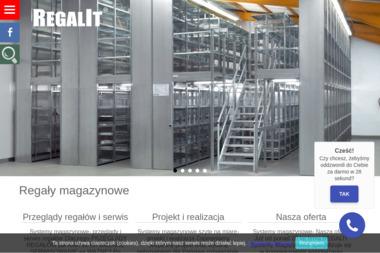 REGALIT Systemy Magazynowe - Regały magazynowe Kraków