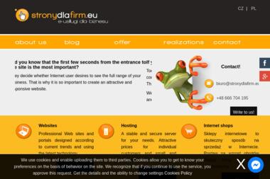 StronyDlaFirm.eu - Pozycjonowanie Stron w Google Cieszyn