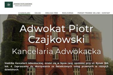 Adwokat Piotr Czajkowski Kancelaria Adwokacka - Windykacja Nysa