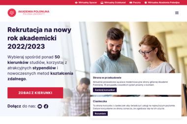 Akademia Polonijna w Częstochowie - Uczelnie wyższe Częstochowa