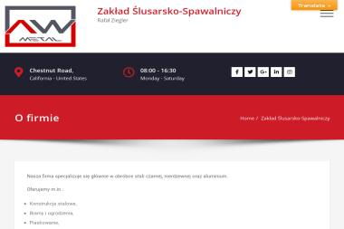 AW Metal Rafał Ziegler - Balustrady Balkonowe Gościęcin