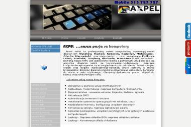 AXPEL SERWIS KOMPUTERÓW - Systemy Informatyczne Pruszków