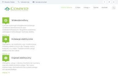 Comwid- Inteligentne systemy - Montaż oświetlenia Brzesko