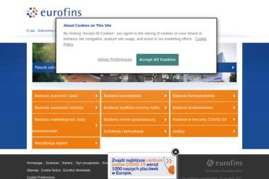 EUROFINS ENVIRONMENT SERVICES POLSKA Sp. z o.o. - Geolog Malbork