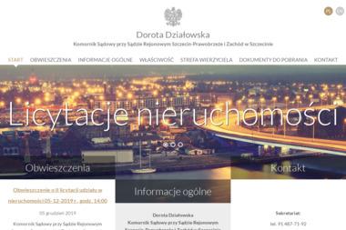 Komornik Sądowy przy Sądzie Rejonowym Szczecin - Prawobrzeże i Zachód w Szczecinie Dorota Działowska - Windykacja Szczecin