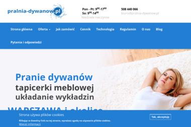 Pralnia dywanów Tadeusz Warzyński - Montaż wykładzin Chotomów
