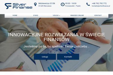 SILVER FINANSE - Doradca finansowy Warszawa