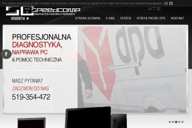 SPEEDCOMP SERWIS KOMPUTEROWY ADAM BRZOSTOWSKI - Wsparcie IT Zambrów