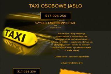 Taxi Bogdan Błasiak Taxi - Transport Chłodniczy jasło