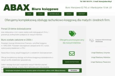Abax Biuro Księgowe Bożena Bartuzi - Biuro Rachunkowe Piaseczno