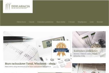 Biuro Rachunkowe Deklaracja Dorota Zbrzeźniak - Niezależni Doradcy Finansowi Toruń