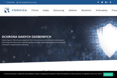 Administrator Danych Osobowych - Formica Białystok - Systemy Informatyczne Białystok