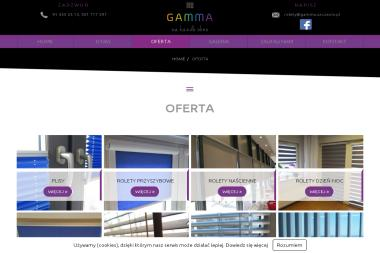 Gamma - Rolety zewnętrzne Szczecin