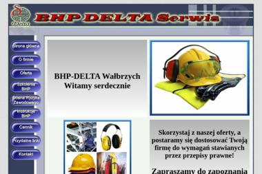 BHP-DELTA Artur Oględzki - Biznes Plan Wałbrzych