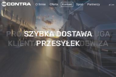 Contra Międzynarodowa Spedycja Sp. z o.o. - Transport międzynarodowy do 3,5t Gdynia