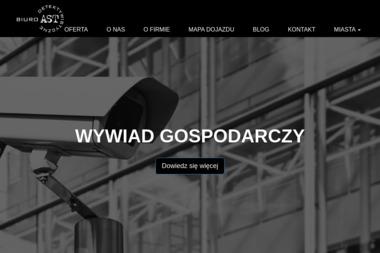 """Biuro Detektywistyczne """"AST"""" Krzysztof Ast - Detektyw Środa Wielkopolska"""