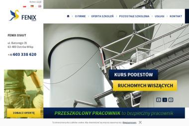 """Ośrodek szkolenia i Usług Technicznych """"FENIX"""" Ostrów Wlkp. - Spawalnictwo Ostrów Wielkopolski"""