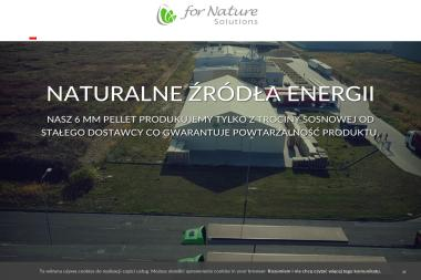 For Nature Solutions sp.zo.o. - Pellet Toruń