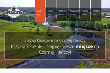 Zakole - spływy kajakowe Czarną Hańczą - Noclegi Krasnopol