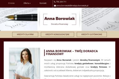 Anna Borowiak - Kredyt dla firm Gdańsk