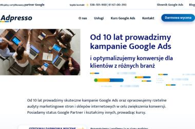 Adpresso - Reklama internetowa Poznań