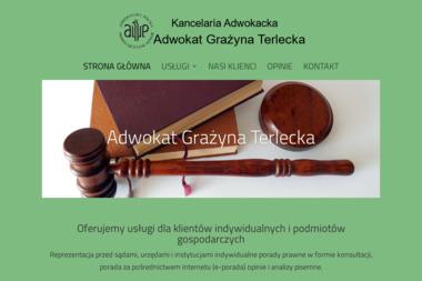 Kancelaria Adwokacka adwokat Grażyna Terlecka - Pomoc Prawna Bełchatów