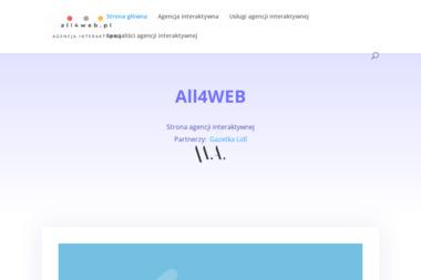 Agencja interaktywna All4web - Pozycjonowanie stron Kornowac