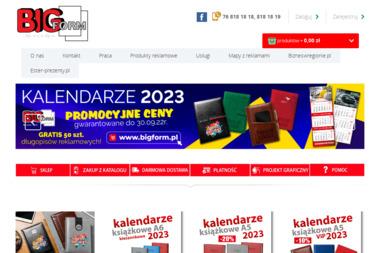BIG FORM Sp. z.o.o. Sp. k. WYDAWNICTWO REKLAMOWE - Naklejki Chojnów
