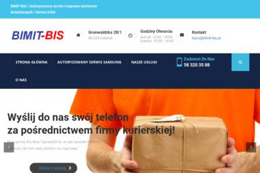 Bimit-Bis Marcin Bielonko - Serwis komputerów, telefonów, internetu Gdańsk