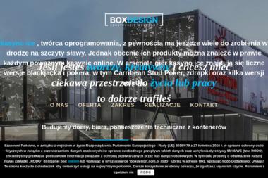 boxdesign.com.pl - Konstrukcje Inżynierskie Warszawa