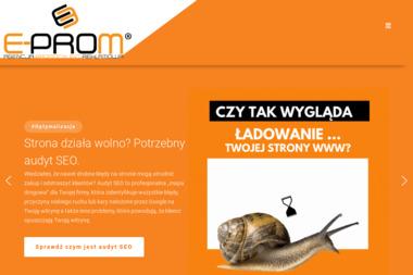 E-prom   Agencja Promocyjno - Reklamowa - Pozycjonowanie stron Nowy Sącz