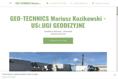 GEO-TECHNICS Mariusz Kozikowski - Geodeta Katowice