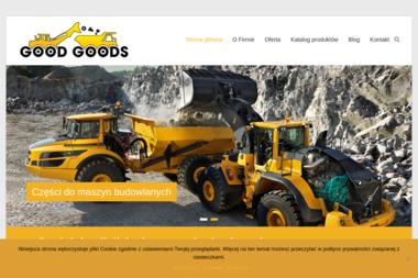 Good-goods - Maszyny budowlane Żabia Wola